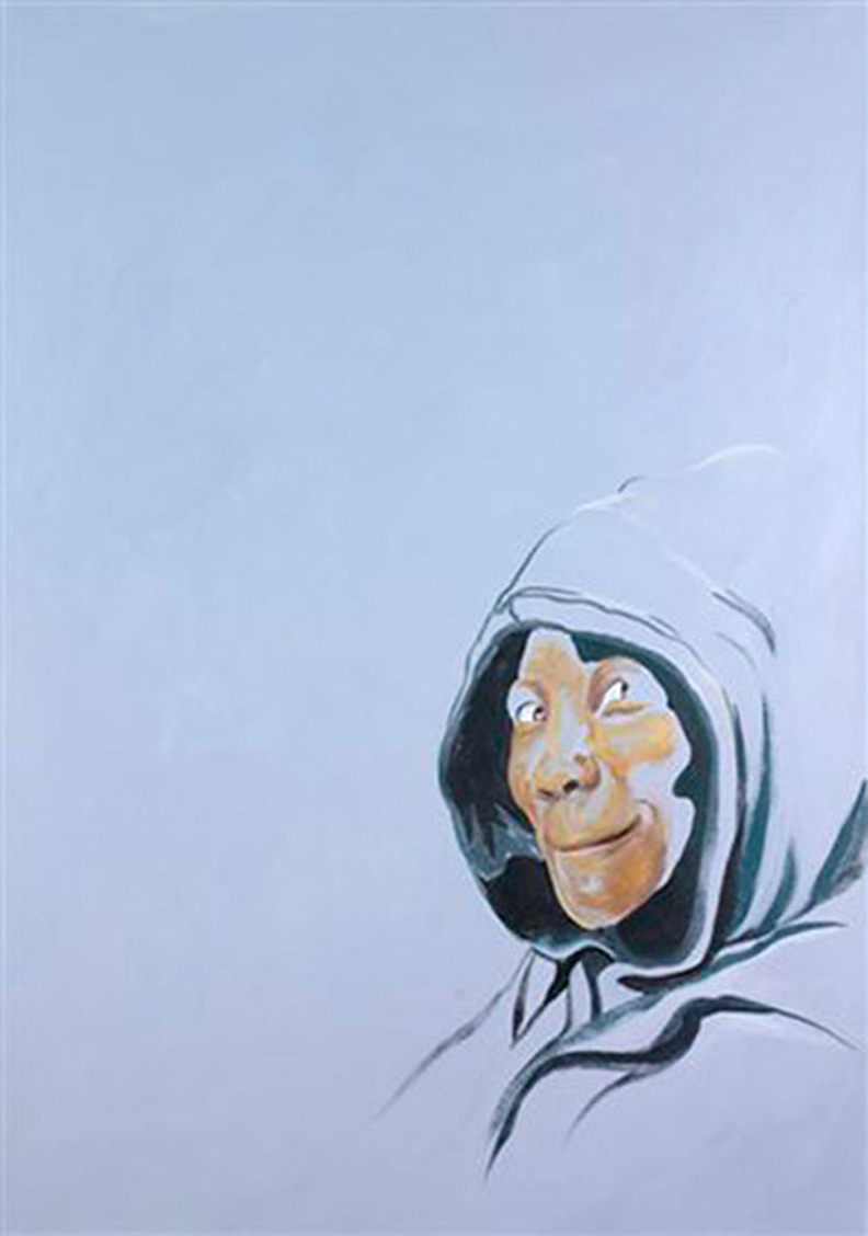 Hooded by Carol Knowlton-Dority