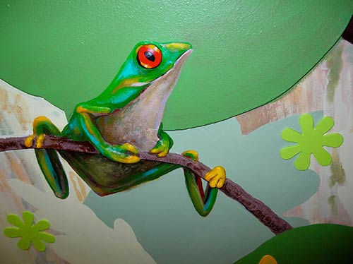 Tree Frog by Carol Knowlton-Dority