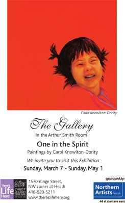 One in the Spirit - Exhibit 2011